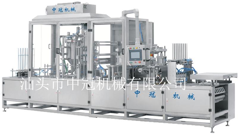 CFD-6型全自動多功能伺服灌裝封口機